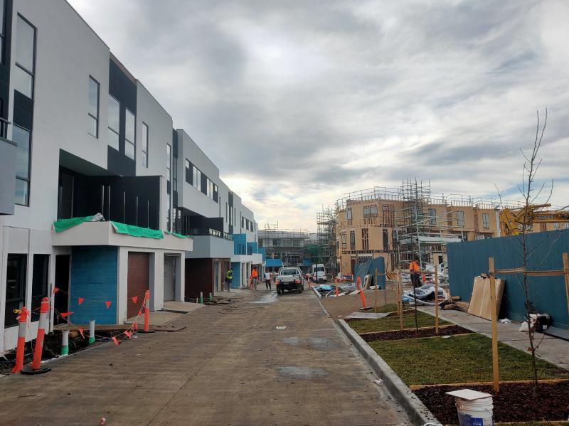 Copernicus Way, Keilor Downs 150 townhouse development