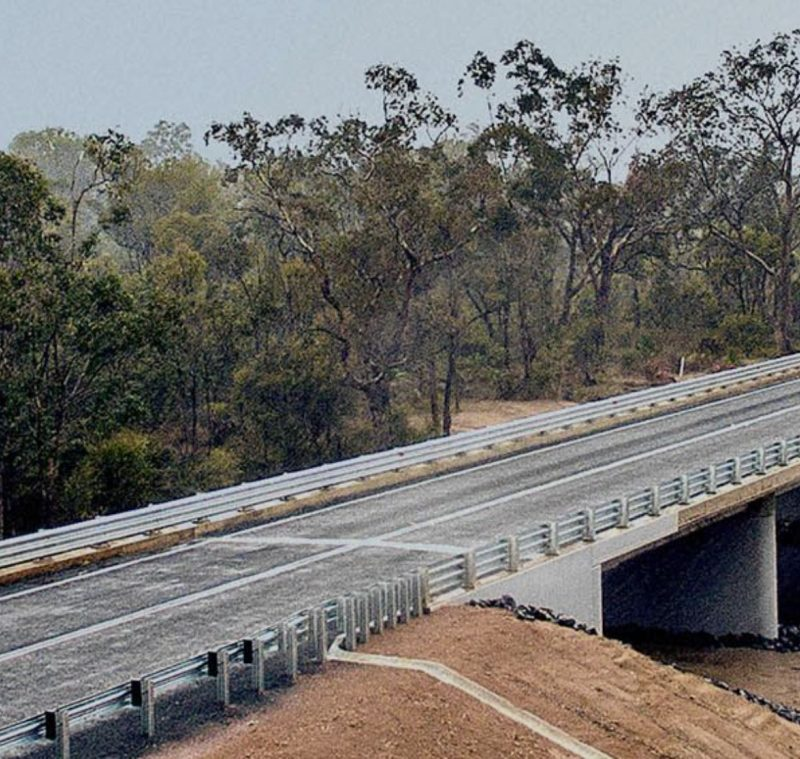 The new Tone River Bridge scaled