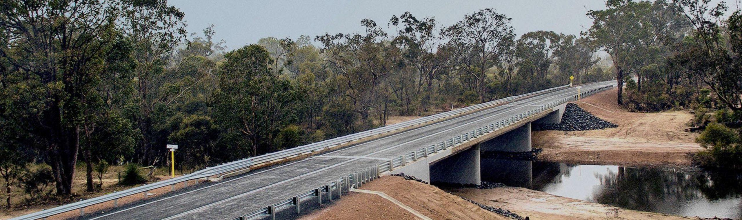 The new Tone River Bridge and road design