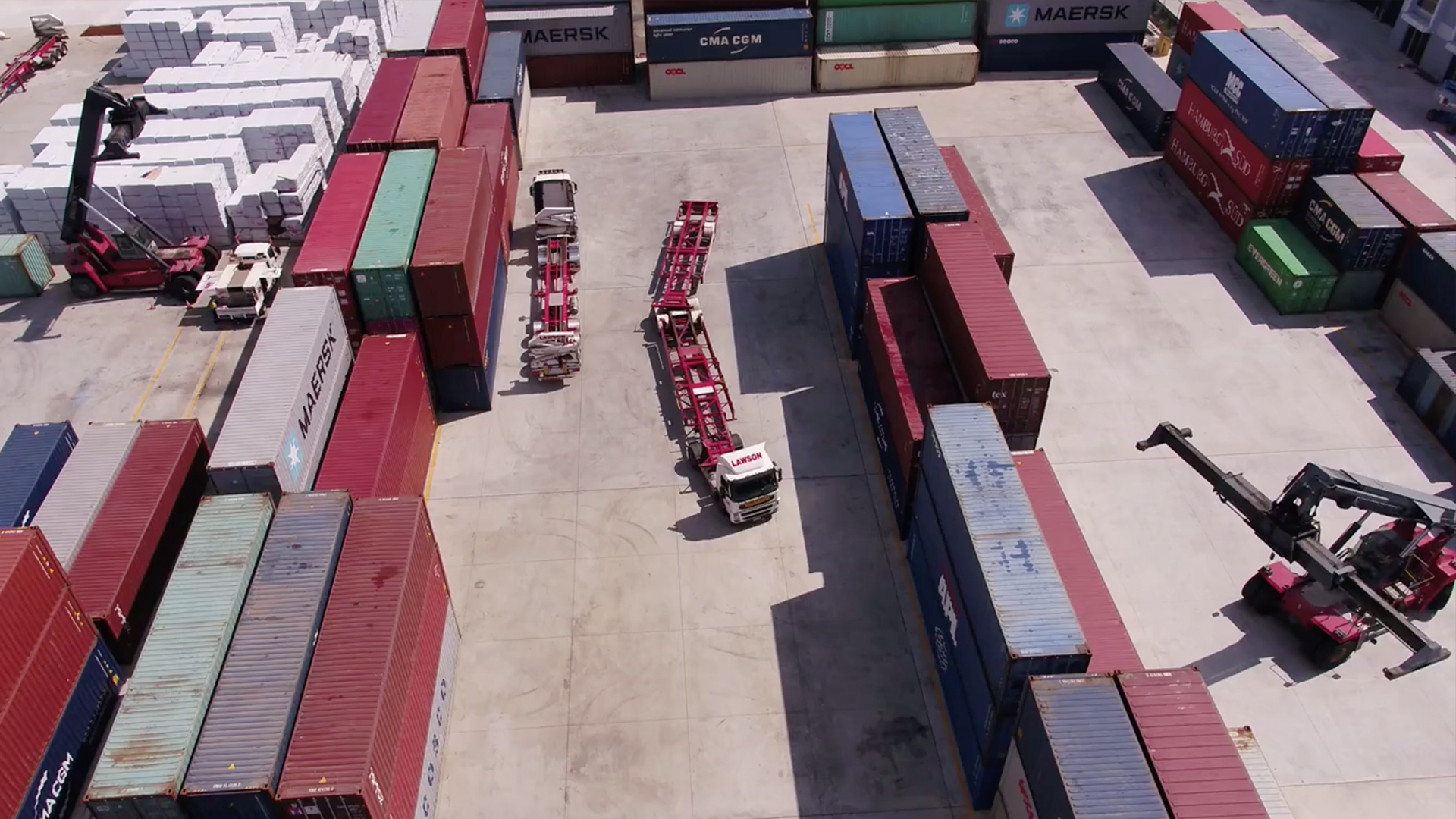lawson container yard